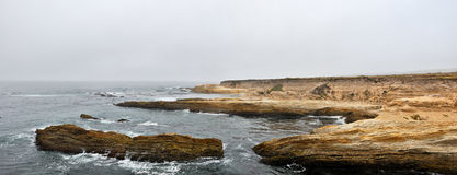 Rocky Coast, Montana de Oro State Stock Images