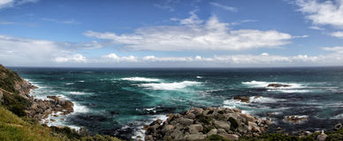 Rocky coast near Cape Town Stock Photo