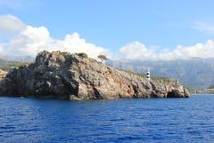 Rocky coast. Nice rocky coast in Majorca royalty free stock image