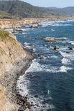 Rocky Coast of Northern California Royalty Free Stock Image