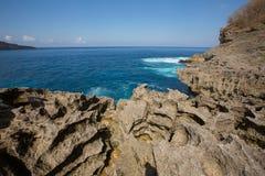 Rocky coast, Nusa Penida, Indonesia Stock Photo