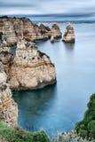 Rocky Coast Of Portugal. Stock Image