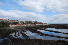 Rocky Coast at Pittenweem Stock Images