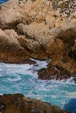 The Rocky Coast of Point Lobos Royalty Free Stock Images