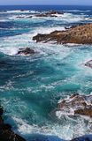 The Rocky Coast of Point Lobos Royalty Free Stock Photography