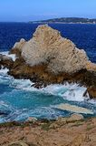 The Rocky Coast of Point Lobos Stock Photo