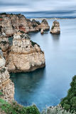 Rocky coast of Portugal. Stock Image