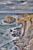 Rocky coast of Portugal Royalty Free Stock Image