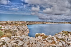 Rocky coast of Portugal Royalty Free Stock Images