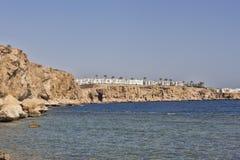 Rocky coast of the Red Sea Stock Photos