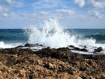 Rocky coast Stock Images