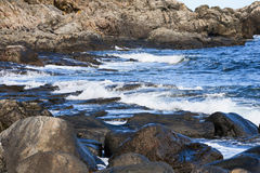 Rocky Coast Royalty Free Stock Images