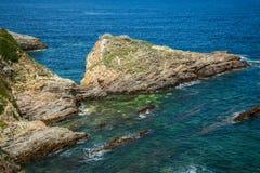 Rocky coast of Spain. Galicia Stock Photo