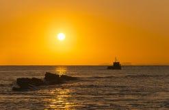 Rocky Coast Sunrise Stock Photo