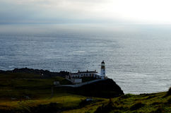 Rocky Coast Surrounding Neist Point in Glendale Schotland royalty-vrije stock afbeelding