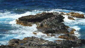 Rocky Coast and Tropical Waters stock video