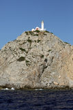 Rocky coast of Turkey south of Bodrum Stock Image