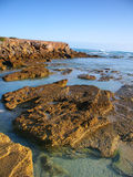 Rocky coast in Victoria, Australia Royalty Free Stock Photos