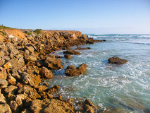 Rocky coast in Victoria, Australia Royalty Free Stock Images