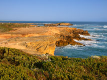 Rocky coast in Victoria, Australia Stock Photos