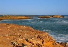 Rocky coast in Victoria, Australia Stock Image