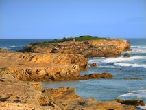 Rocky coast in Victoria, Australia Royalty Free Stock Photos