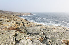 The rocky coast Stock Photo