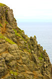 Rocky Coastal Cliff Top Stock Image