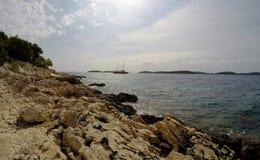 Rocky Coastal Landscape Royalty Free Stock Image