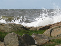 Rocky coastal landscape Royalty Free Stock Photos