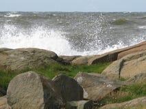 Rocky coastal landscape Royalty Free Stock Photography