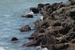 Rocky Coastline Lizenzfreie Stockfotos