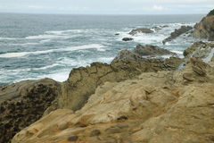 Rocky coastline Royalty Free Stock Images