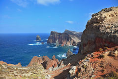 The rocky coastline Royalty Free Stock Photo