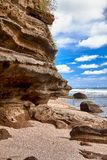 Rocky coastline Stock Photography