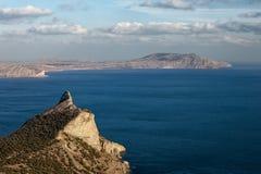 Rocky coastline of Stock Photography