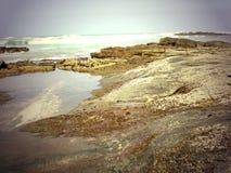 Rocky coastline Stock Image