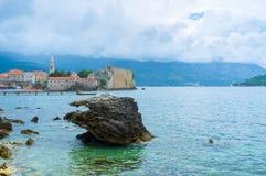 The rocky coastline Stock Photos