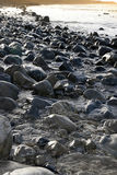Rocky coastline of a county Kerry beach Stock Photo