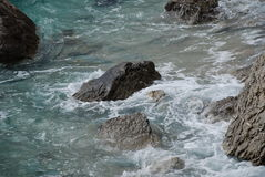 Rocky coastline, Croatia Royalty Free Stock Photos