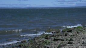 Rocky Coastline (1 de 3) almacen de video