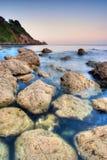 Rocky Coastline in Irlanda Fotografia Stock