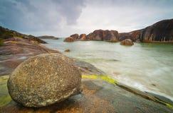 Rocky Coastline Landscape Stockfotos