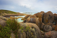 Rocky Coastline Landscape Royalty Free Stock Photo