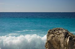 Rocky coastline of Majorca Stock Photography