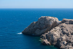 Rocky coastline of Majorca Royalty Free Stock Photography