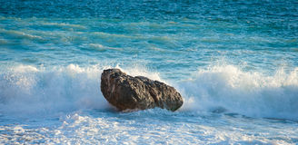 Rocky coastline of Majorca Stock Images