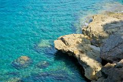 Rocky coastline of Majorca Stock Photo