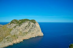 Rocky coastline of Majorca Stock Image