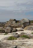 Rocky Coastline, Near Concarneau, Brittany Royalty Free Stock Photography